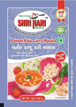 Paneer kaju Curry Masala manufacturer