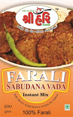 Ready To Cook Farali Sabudana Vada Instant Mix